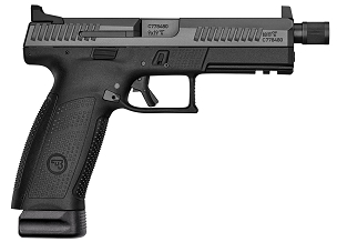 CZ P-10 F Suppressor-Ready 9mm Luger Semi Auto Pistol 5.11