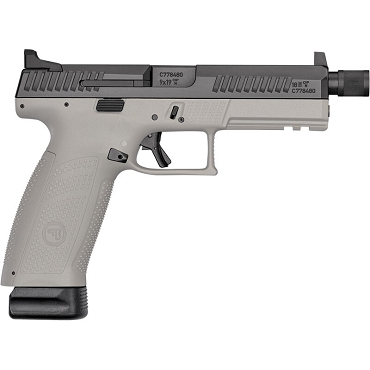 CZ P-10 F 9MM BLK/GREY 21+1 Threaded Barrel Suppressor Ready