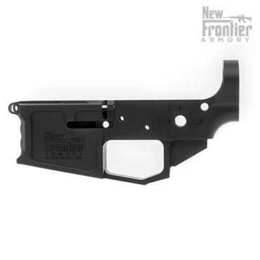 New Frontier Armory C-4 Stripped AR-15 Billet Lower Receiver