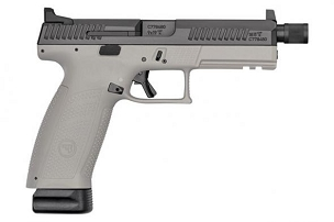 CZ P-10 F 9MM BLK/GREY 19+1 Threaded Barrel Suppressor Ready 9mm
